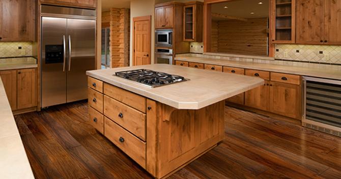 The Great Flooring Debate Should You Put Flooring Beneath Counters And Appliances Urbanfloor Blog