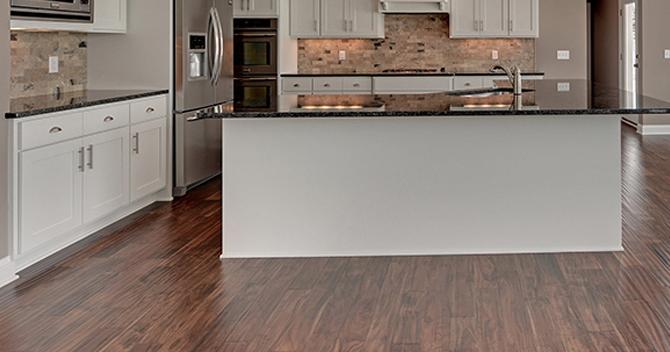 Hardwood Floors, Matching Laminate Flooring To Cabinets