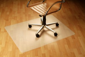 How Can I Protect A Hardwood Floor From Rolling Office Chair