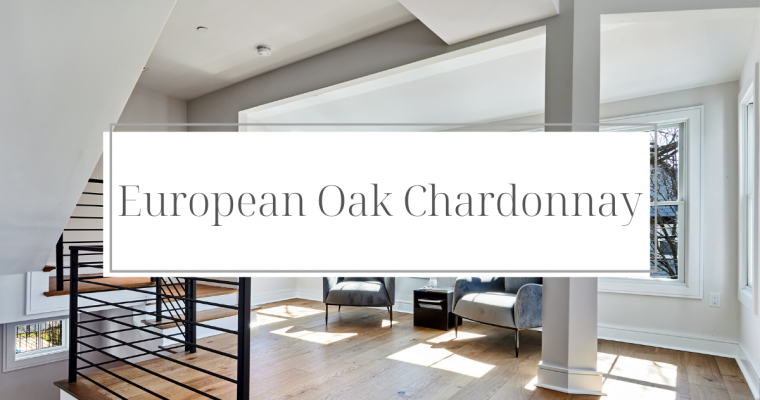 Color Corner: European Oak Chardonnay