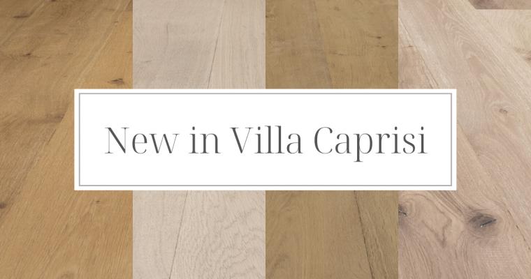 New in Villa Caprisi